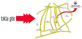 Ankara Kız Yurdu Harita